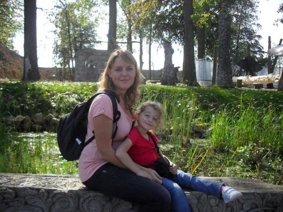 Valentine et maman Paradisio