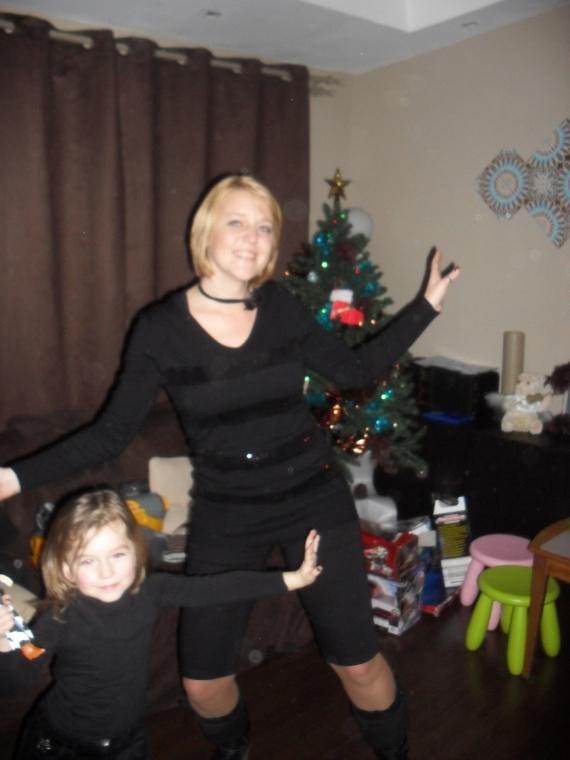Valentine et maman noël 2011