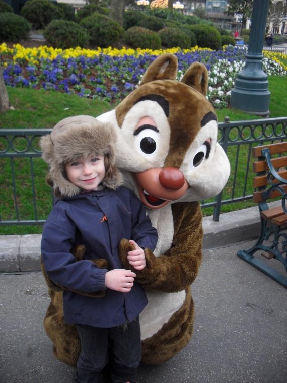 Valentine et Tac Disney 22/01/2012