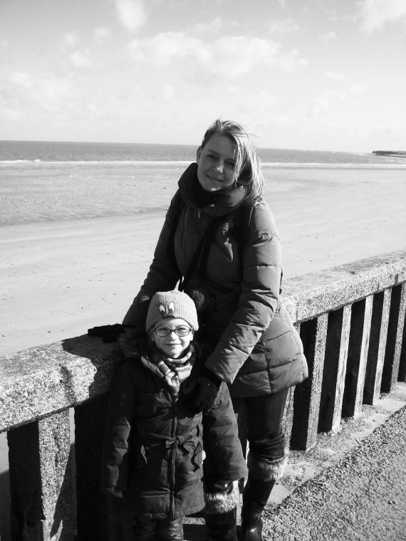 Valentine et maman Normandie