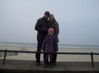 Valentine, papa et maman Touquet