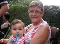 Andrea et mamie