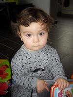 Andrea pyjama moustache
