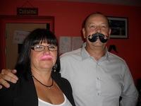 Dany et Christine soirée moustache