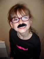 Valentine soirée moustache