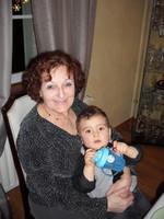 Andrea et mamie Santina Noël 2013 (20)