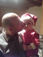 Andrea et papa noël 2013