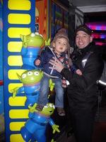 Andrea et papa Disneyland