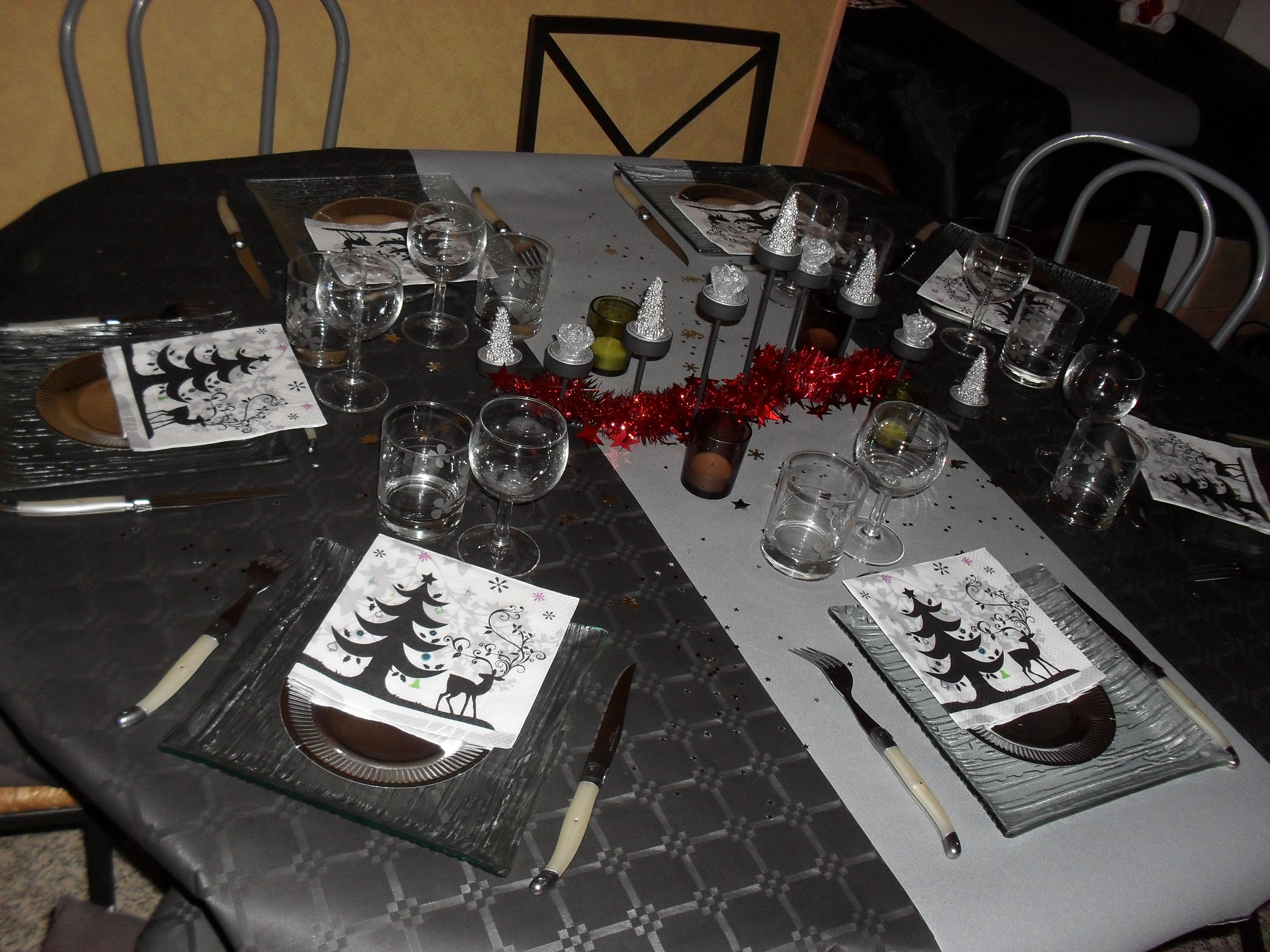 Nouvel an 2010 les d cos de table eloluca photos for Table nouvel an
