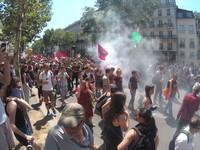 autres manifestants