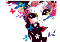 Woman-with-flowers-