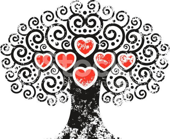 coeur arbre