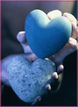 coeur bleu 2