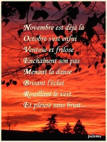 novembre acrostiche