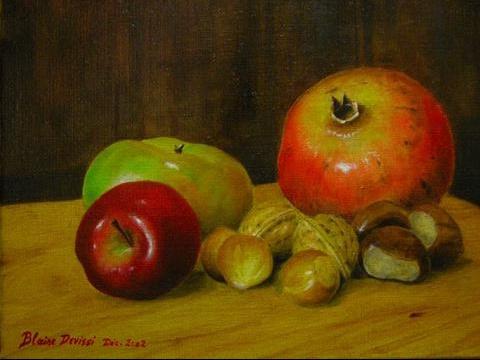 fruits-peinture