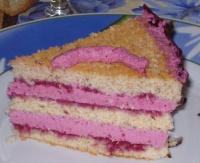 Gâteau noisettes fruits rouges de mes 28 ans