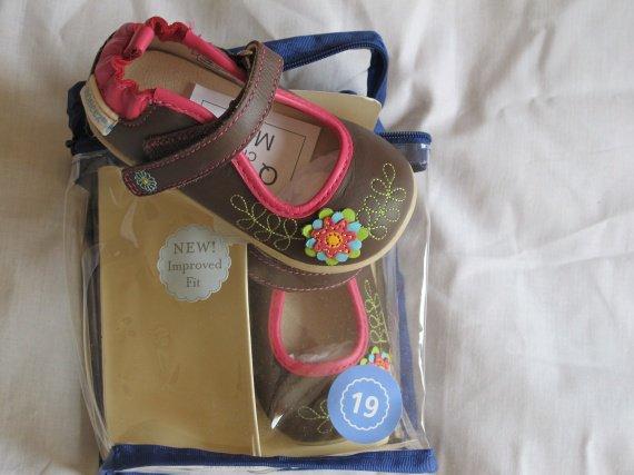 chaussures t 19 robeez tredz 35e neuves dans emballage