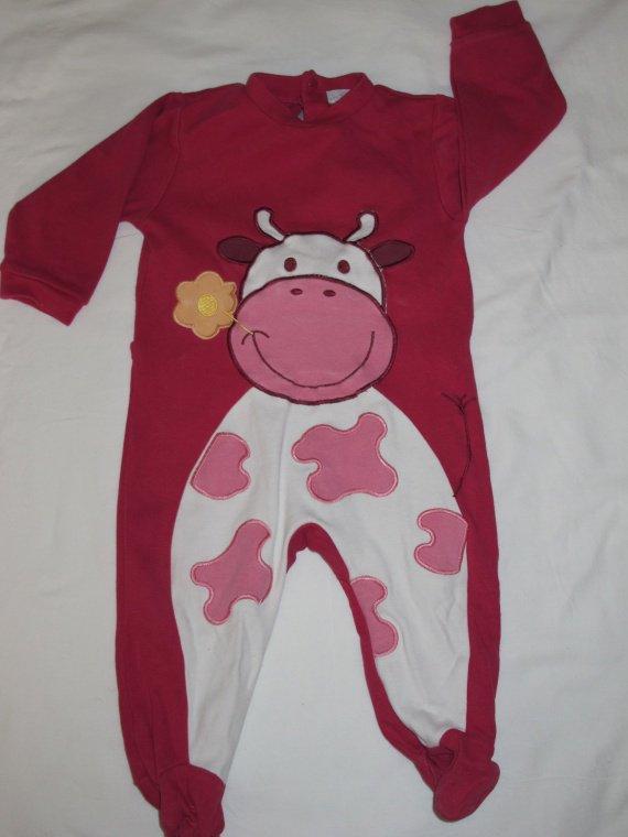 pyjama vache coton 3.5e