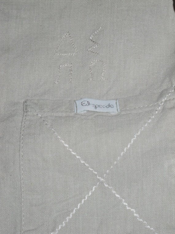 zoom chemise lin jean bourget 8e