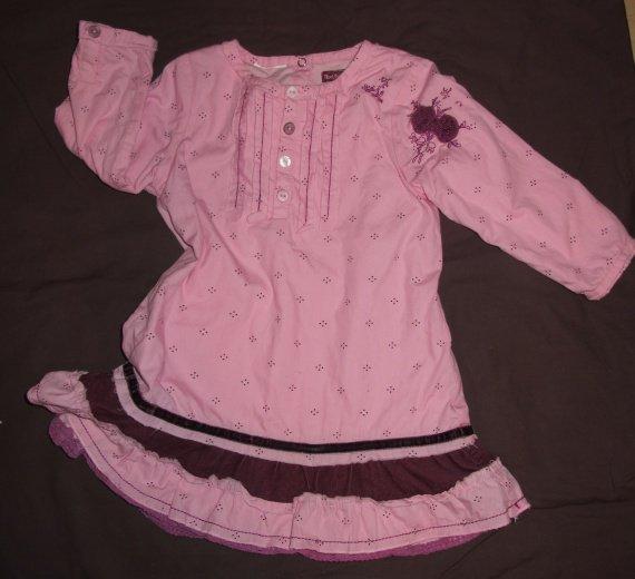 14e robe doublée marque petit boy 18 mois