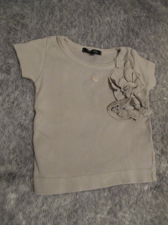 15e - T-shirt lili gaufrette 2 ans