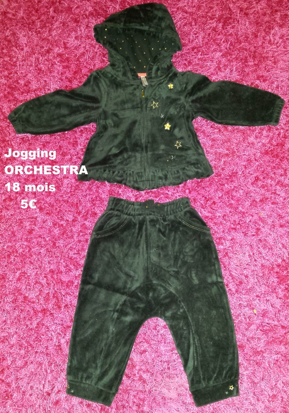 jogging ORCHESTRA 18 mois - 5€