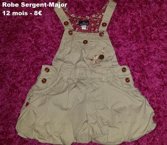 robe SERGENT MAJOR 12 mois -8€