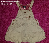 robe SERGENT MAJOR 12 mois -8€