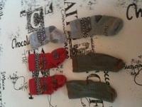 Chaussettes pointure 23/26 0.50 cts l'unité
