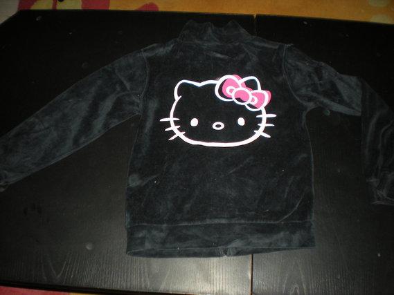 Dos du Gilet Hello Kitty taille 7-8 ans 5 euros