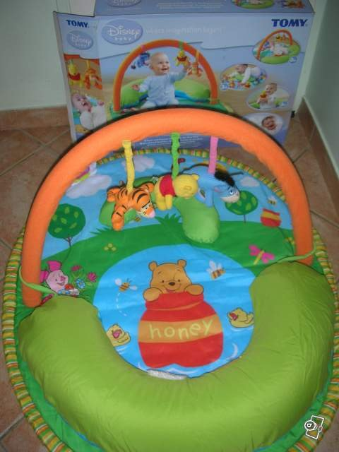Tapis D 39 Eveil Tomy Winnie L 39 Ourson 30 Euros Puericulture Manou78250 Photos Club Doctissimo