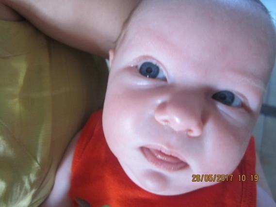 mes beaux yeux bleus