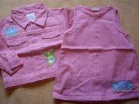 Ensemble en jeans rose 3E