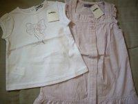 Ensemble robe+T-shirt TAO neuf 12E