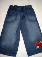 Bermuda en jeans Spiderman 8 ans état neuf 6E