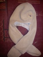 Bonnet 2 en 1 (écharpe incluse) Obaïbi Taille 45 NEUF