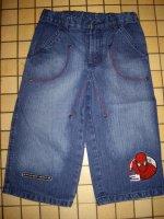 bermuda en jeans Spiderman 8 ans état neuf 7e