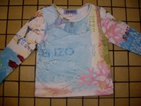 t-shirt Ml Kenzo 2 ans 8e
