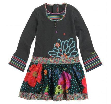 trouvé Catimini robe Jardin Pop