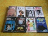 cassettes audio 0,50cts OU le lot 10euros