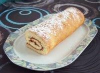 Gâteau roulé à la confiture
