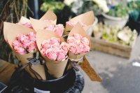 Cornets de roses