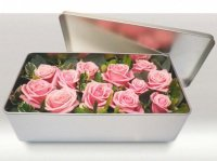 boîte de roses