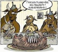 vache!