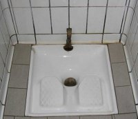 Toilettes turques