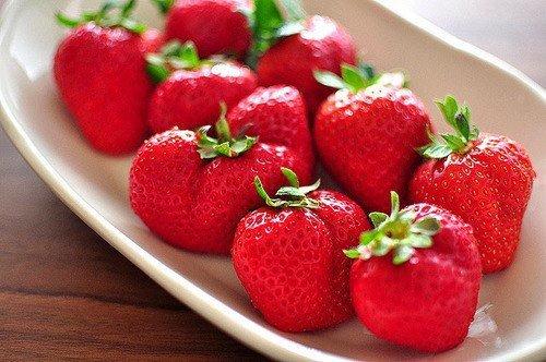 Miam des fraises!