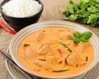 curry thaï dau poulet