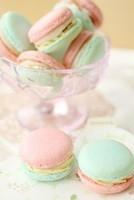 macaron pistache fraise