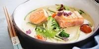 saumon-lait-de-coco