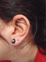 oreille gauche